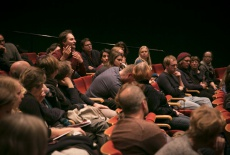 10. A question from the audience - this time from Filmplus nominee Dietmar Kraus